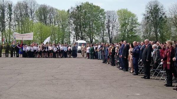 Байкеры и школьники из Калининграда почтили память советских бойцов в Польше. 27 апреля 2019
