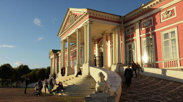 Дворец усадьбы Кусково в Москве
