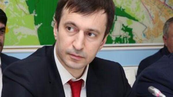 Министр экономики и территориального развития Республики Дагестан Осман Хасбулатов