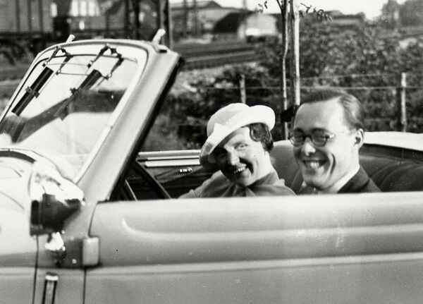 Королева Нидерландов Юлиана и принц Бернхард
