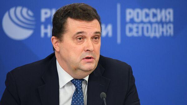 Председатель Союза журналистов России Владимир Соловьев