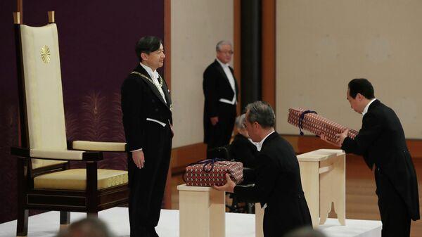Интронизация нового императора Японии Нарухито