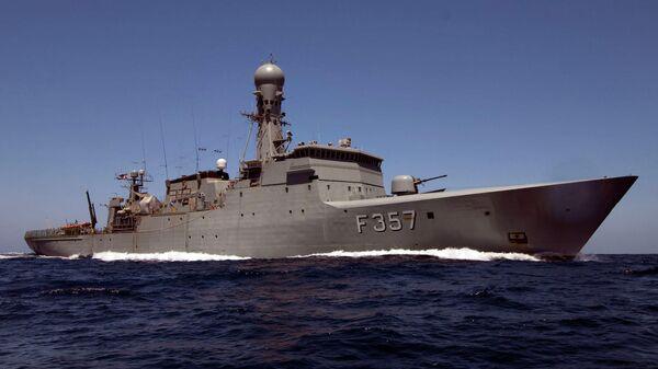 Фрегат ВМС Дании Тетис