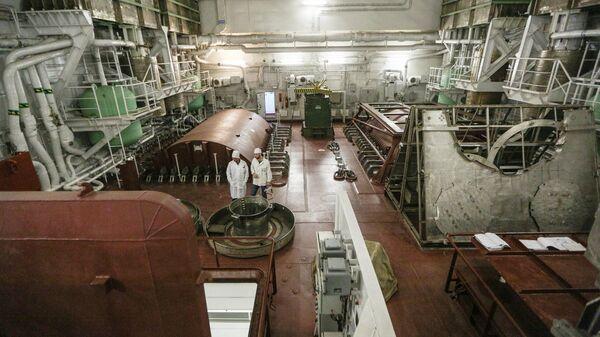 Плавучая атомная ТЭС Академик Ломоносов