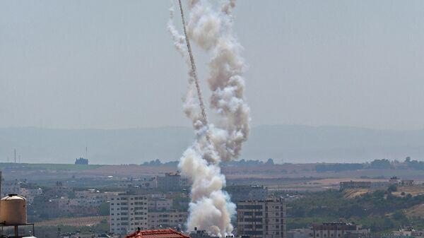Удар сектора Газа по Израилю