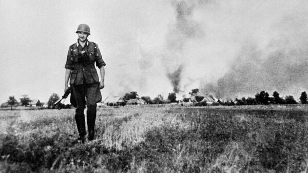 Великая отечественная война 1941-1945 гг. Гитлеровский солдат