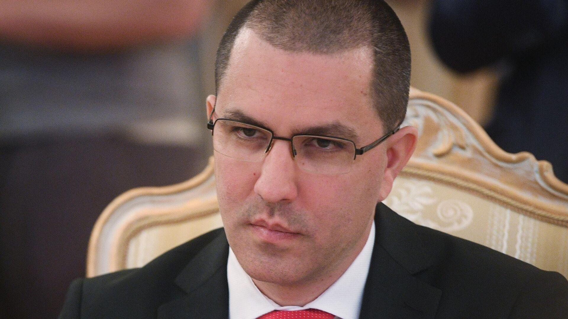 Министр иностранных дел Венесуэлы Хорхе Арреаса - РИА Новости, 1920, 20.10.2020