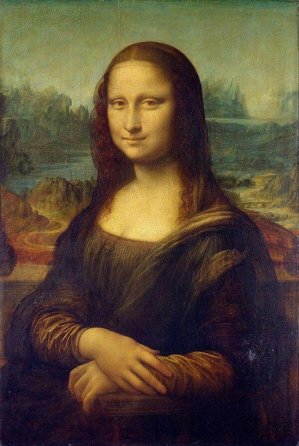 Картина Леонардо Да Винчи Мона Лиза
