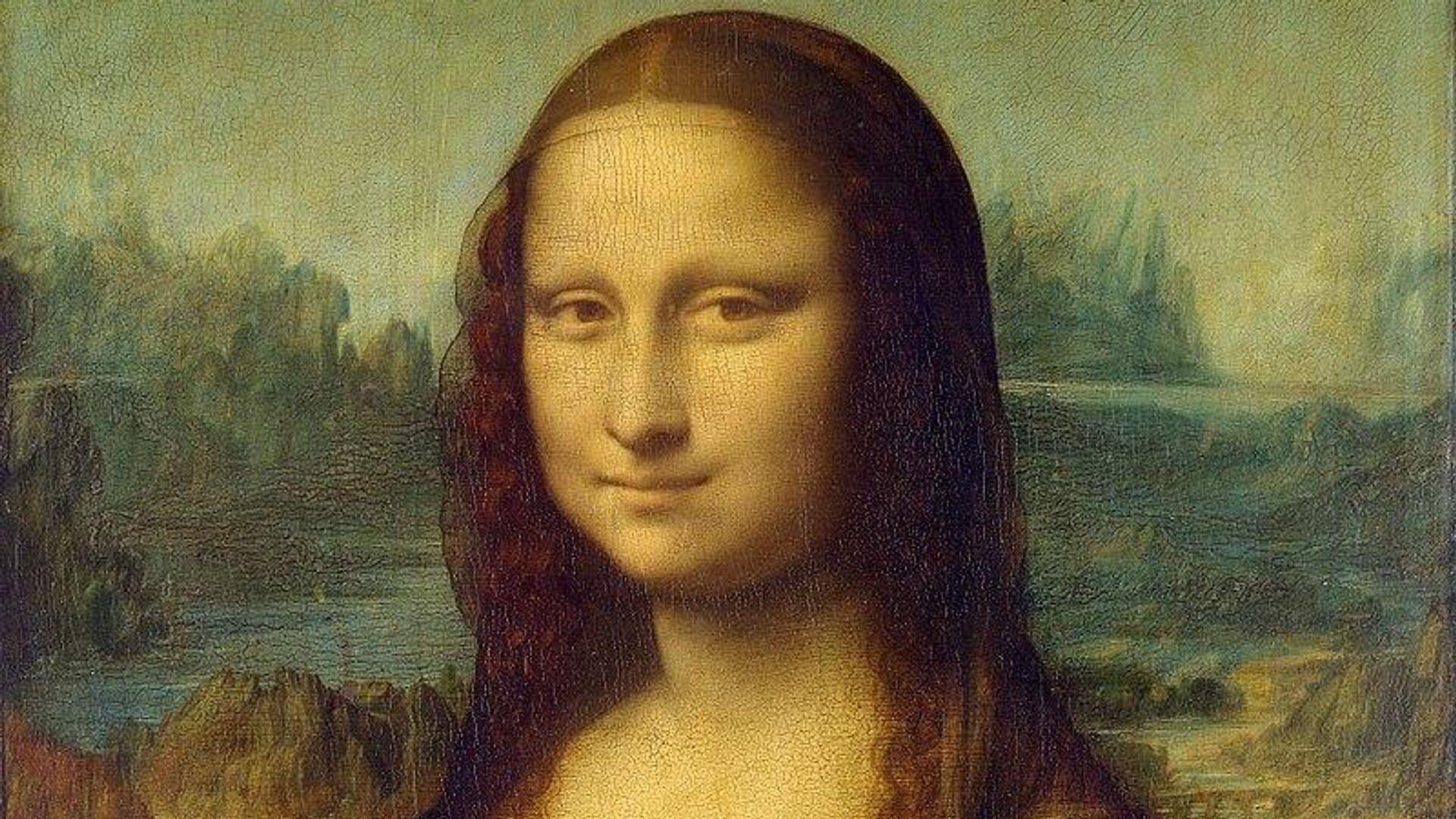 Картина Леонардо Да Винчи Мона Лиза  - РИА Новости, 1920, 01.10.2020