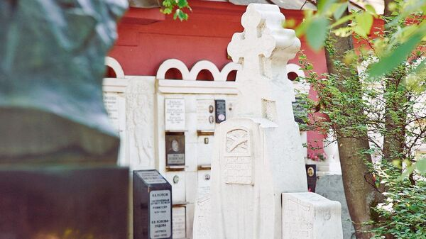Мемориалы на Новодевичьем кладбище
