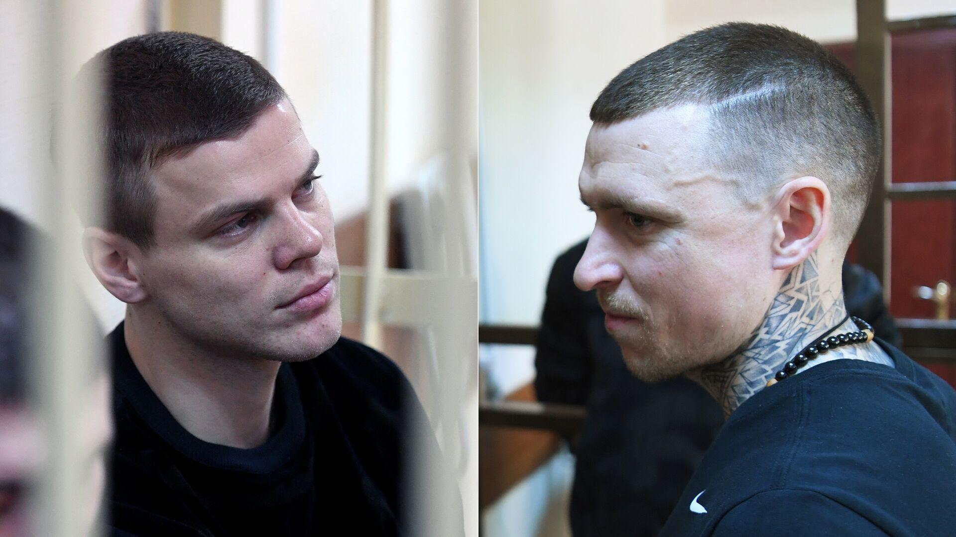 Футболисты Александр Кокорин и Павел Мамаев в суде - РИА Новости, 1920, 09.05.2019