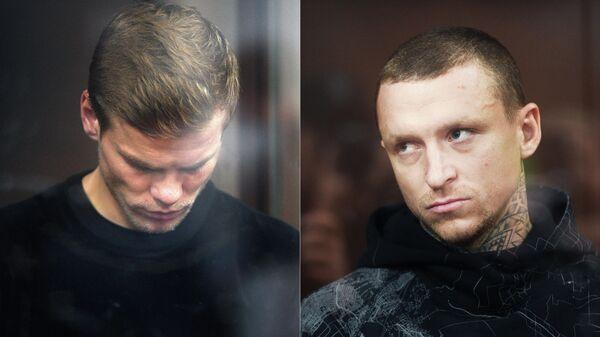 Футболисты Александр Кокорин и Павел Мамаев в суде