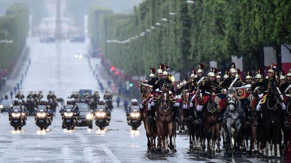 Памятные мероприятияя по случаю 74-й годовщины Победы над фашизмом во Второй мировой войне в Париже. 8 мая 2019