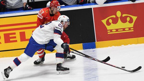 Хоккей. Чемпионат мира. Матч Россия - Норвегия
