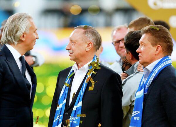 Празднование чемпионства ФК Зенит