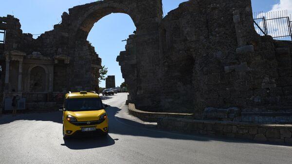 Городские ворота в античном Сиде