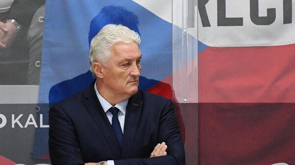Главный тренер сборной Чехии Милош Ржига