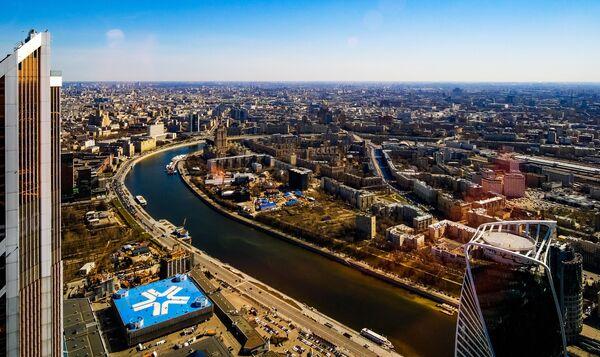 Смотровая площадка PANORAMA360 в Москва-Сити