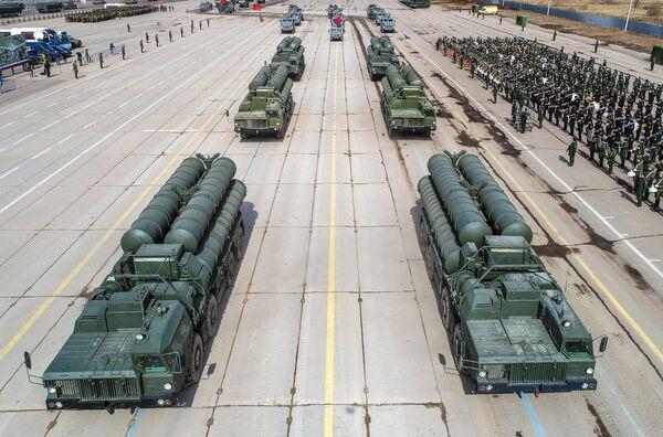 Sistemas de mísseis antiaéreos S-400