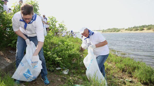 Ежегодная всероссийская акция Вода России стартовала в Нижнем Новгороде