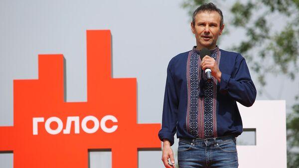 Лидер украинской рок-группы Океан Эльзы