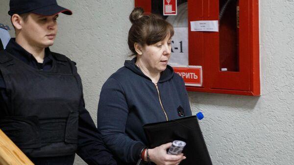 Гендиректор ООО Зимняя вишня Надежда Судденок перед заседанием в Заводском районном суде в Кемерово. 16 мая 2019