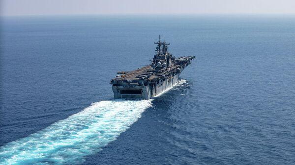Универсальный десантный корабль ВМС США Kearsarge