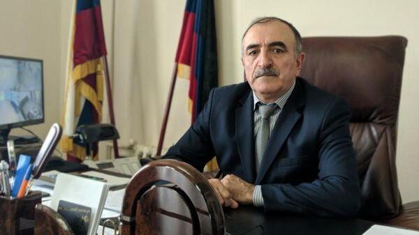 Глава администрации МО Докузпаринский район Абдурагим Алискеров
