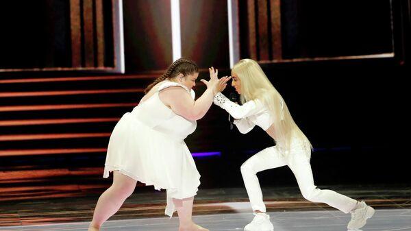 Певец Билал Хассани (Франция) в финале международного конкурса Евровидение-2019