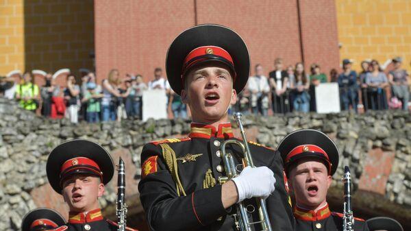 Открытие программы «Военные оркестры в парках»