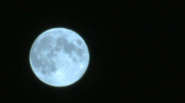 Последняя за десятилетие голубая Луна над Москвой
