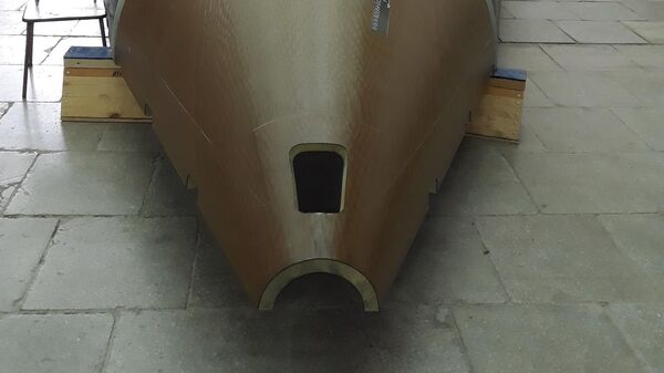 Производство хвостового оперения из углепластика для МС-21 в ОНПП Технология