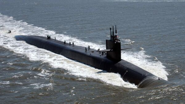 Субмарина USS Florida ВМС США