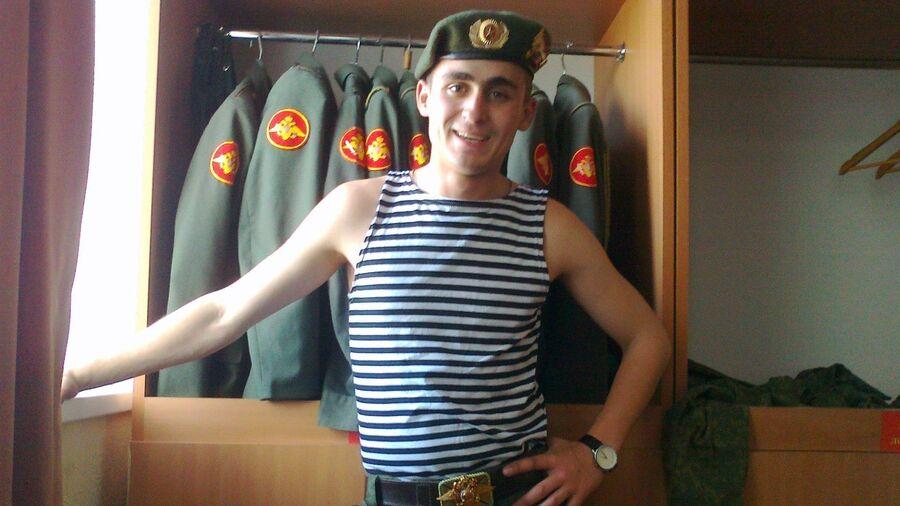 Иван Мишуков во время службы в армии