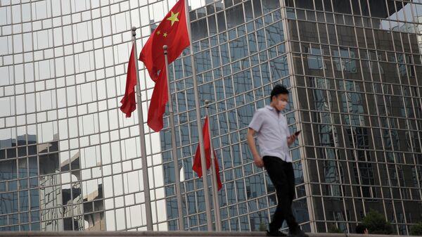 Прохожий в Пекине
