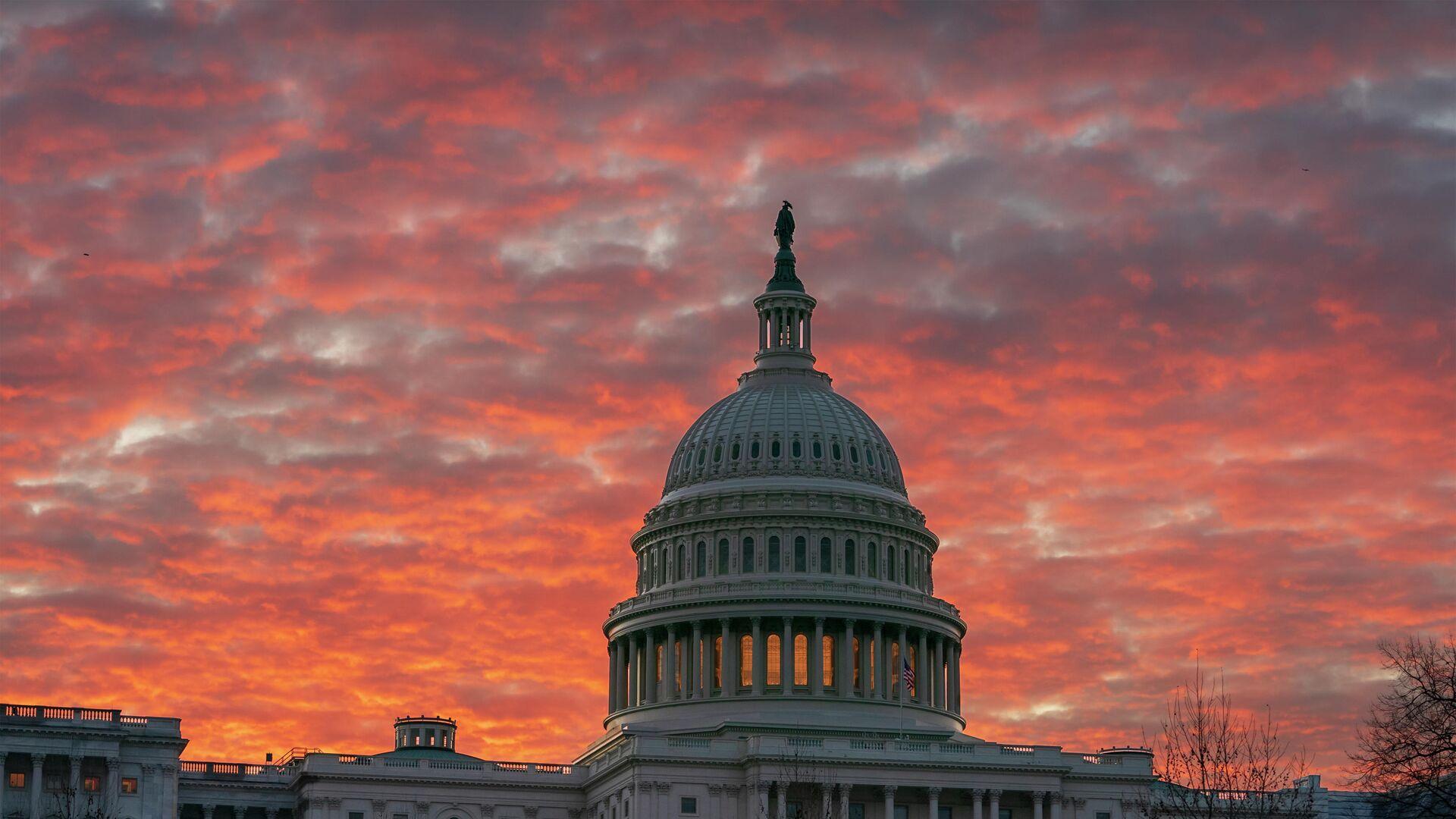 Здание Капитолия в Вашингтоне - РИА Новости, 1920, 10.06.2021