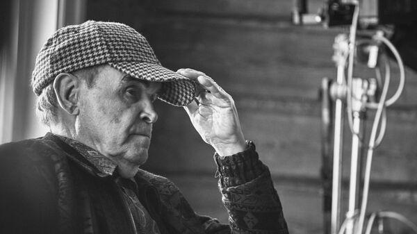 Кадр со съемок фильма Один день Ивана Денисовича, режиссер Глеб Панфилов