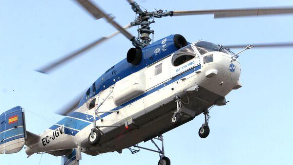 Вертолет КА-32. Архив