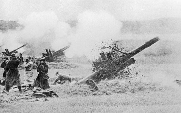 Советская артиллерия во время Великой Отечественной войны. Архив