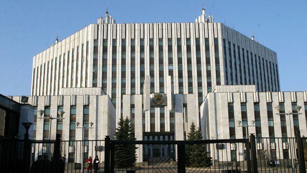 Здание Академии Генерального штаба ВС РФ. Архивное фото