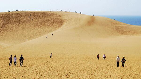 Песчаные дюны Тоттори, Япония