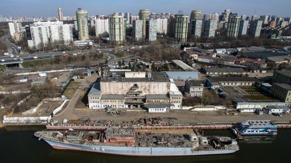 Промзона в Москве
