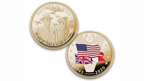 С ошибочкой вышло. США выпустили монету в честь победы без СССР