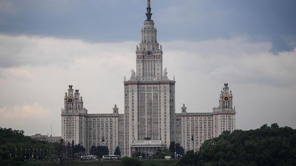 Высотное здание МГУ имени Ломоносова
