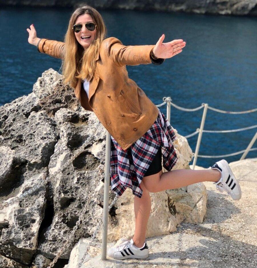 Жанна Бадоева в Апулии, Италия