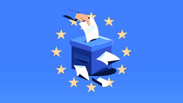 Предварительные итоги выборов в Европарламент