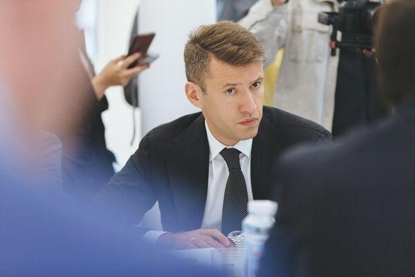 Генеральный директор Фонда защиты дольщиков Александр Плутник