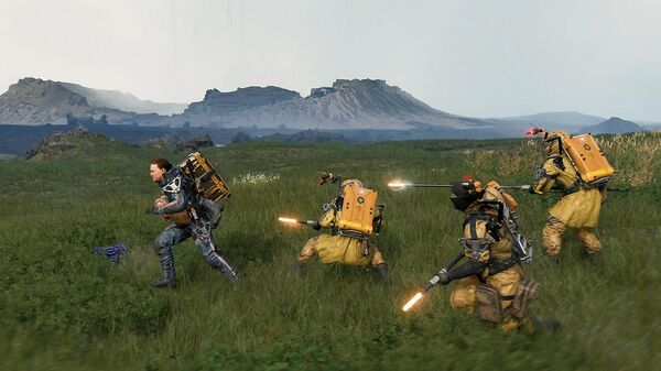 Скриншот игры Death Stranding