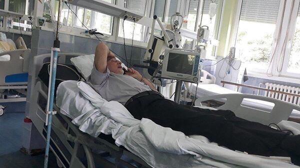 Раненный в Косово сотрудник миссии ООН россиянин Михаил Краснощеков в больнице