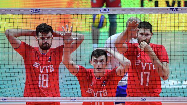 Российские волейболисты проиграли Словении и вылетели с чемпионата Европы